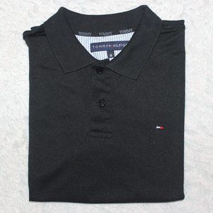 Tommy Hilfiger Polo Shirt Men  M Black